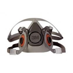 3M - 70070315547 - Half Facepiece Reusable Respirator 6200/07025(AAD), Respiratory Protection, Medium