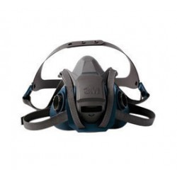 3M - 70071621828 - Rugged Comfort Quick Latch Half Facepiece Reusable Respirator 6501QL, Small