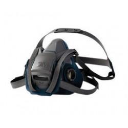 3M - 70071621851 - Rugged Comfort Half Facepiece Reusable Respirator 6503, Large