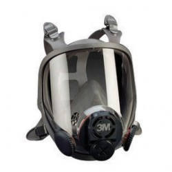 3M - 70070889806 - Full Facepiece 6700DIN, Small