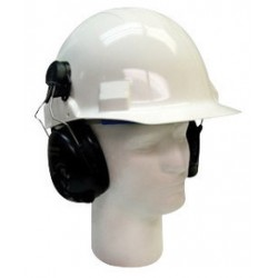 3M - 70071536174-CA - 3M Peltor Black Hard Hat Mount Headset, ( Case )