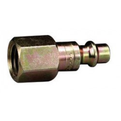 3M - 70070405702-CA - 3M 1/4 NPT Female Brass High Pressure Hansen Plug (For Use With 3M W-9435 Or W-2929 Supplied Air Hose), ( Case of 2 )