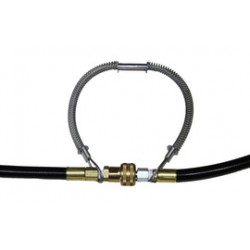 Air Systems - ASWHIPLN15 - Air Systems International Whipline Check 38 Restraint Safety Cable With Hose To Hose Connection (For Use With 1 1/2 - 3 Hose), ( Each )