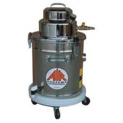 Air Systems - AV-5P - Air Systems International 120 V 60 Hz 7.5 A 1.3 hp 5 Gallon 94 CFM Stainless Steel Pneumatic Explosion Proof HEPA Vacuum System With Wand, Accessory Tools And Filters, ( Each )