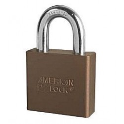 American Lock - A1305KABRN - American Lock Brown Anodized Aluminum High Security Padlock Boron Alloy Shackle, ( Each )