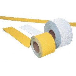 Accuform Signs - FMT420WT - Accuform Signs 4 X 150' White Wet And Engineering Grade Pavement Marking Tape, ( Roll )