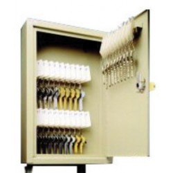 Accuform Signs - KCT111 - Accuform Signs 6 3/4 X 6 7/8 X 2 Single Tag Slotted Padlock Rack Cabinet (Holds Up To 10 Keys), ( Each )