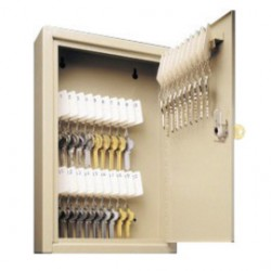 Accuform Signs - KCT116 - Accuform Signs 12 1/8 X 10 5/8 X 3 Padlock Key Control Cabinet (Holds Up To 60 Keys), ( Each )