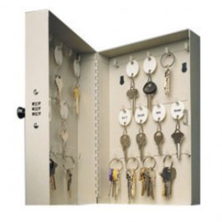 Accuform Signs - KCT328 - Accuform Signs 11 1/2 X 7 3/4 X 3 1/4 Key Control Hook Cabinet With Combination Lock (Holds Up To 28 Keys), ( Each )