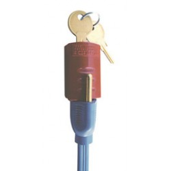 Accuform Signs - KDD150 - Accuform Signs Red ABS Plug-On Lockout, ( Each )