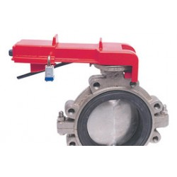 Accuform Signs - KDD456RD - Accuform Signs Red Butterfly Valve Lockout, ( Each )