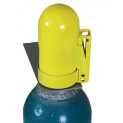 Accuform Signs - KDD482 - Accuform Signs Welded Steel Snap Cap Fine Thread Low Pressure Gas Cylinder Lockout Cap, ( Each )