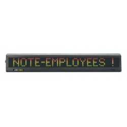 Accuform Signs - MME124 - Accuform Signs 25.8 X 3.8 X 2 Electronic Moving One-Line Format Message Display, ( Each )