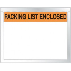 Accuform Signs - MPE484 - Accuform Signs 5 1/2 X 10 2 mil Plastic Packing List Envelope PACKING LIST ENCLOSED (1000 Per Pack), ( Package )