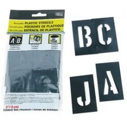 Accuform Signs - NSL383 - Accuform Signs 3' Black PVC Stencil, ( Each )