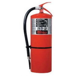 Ansul - 434747 - ANSUL SENTRY AA20-1 20 Pound Stored Pressure FORAY Dry Chemical 10A:120B:C Hand Portable Fire Extinguisher For Class A, B And C Fires With Extruded Aluminum Valve, Wall Bracket And Steel Pick-Up Tube