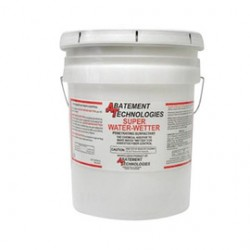 Abatement Technologies - AS205-5-PL - Abatement Technologies 5 Gallon Pail Blue Super Water-Wetter Surfactant For Use With Asbestos Abatement, ( Pallet of 36 )