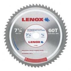 Lenox - 21882 - Lenox 7 1/4 X 5/8 X .370 5800 RPM 60 TPI Lenox Titanium Carbide Tipped Circular Saw Blade, ( Each )