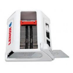 Lenox - 20368BLUNT50D-CA - Lenox Silver High Speed Steel Bi-Metal Blunt Tip Safety Blade With Dispenser (50 Per Pack), ( Case of 5 )