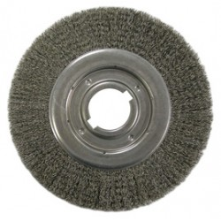 Anderson Brush - 01406 - Anderson Products 10' X 2' Steel Medium Face Crimped Wire Wheel Brush, ( Each )