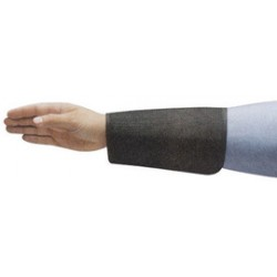 Ansell-Edmont - 105241-EA - Ansell Black 7 CPP 2-Ply Cane Mesh Cut Resistant Sleeve With Velcro Closure, ( Each )
