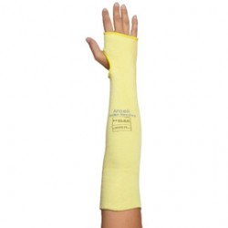 Ansell-Edmont - 103889-CA - Ansell 10 Goldknit Medium Weight Kevlar Cut Resistant Knitted Sleeve With Thumb Slot, ( Case of 50 )