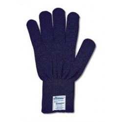 Ansell-Edmont - 103820-DZ - Ansell Blue ThermaKnit Insulator Thermolite Light Weight Cold Weather Gloves With Knit Wrist, ( Dozen of 12 )