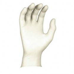 Showa Best Glove - 2205SPFM-07-DI - SHOWA Medium White 5 mil Latex Free Vinyl Medical Grade Powder-Free Disposable Gloves (100 Gloves Per Box), ( Dispenser )