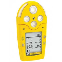 Honeywell - M5IR-XWBY-R-D-D-Y-N-00 - BW Technologies Yellow GasAlertMicro 5 IR Portable Combustible Gas, Carbon Monoxide, Hydrogen Sulphide, Oxygen And Carbon Dioxide Monitor With Rechargeable Battery Pack, Cradle Charger, Diffusion Sampling And