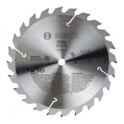Bosch - PRO1024RIP - Bosch 10 X 5/8 X .086 6500 RPM 24 TPI FTG Grind Construction Series Circular Saw Blade (For Use With Table Saw), ( Each )