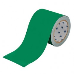 Brady - 104375-RL - Brady 4 X 100' Green Polyester ToughStripe Floor Marking Tape, ( Roll )