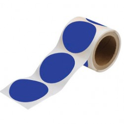 Brady - 104402-RL - Brady 3 1/2 Blue .008 B-514 Polyester ToughStripe Floor Marking Tape, ( Roll )