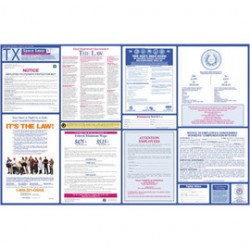Brady - 106360 - Brady 26 X 20 Black/Blue/Orange/Red/Yellow On White Paper Safety Poster, ( Each )