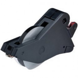 Brady - 142781-CT - Brady 1/2 X 90' Black Labelizer Plus Vinyl Indoor/Outdoor Tape Cartridge, ( Carton of 2 )