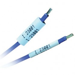 Brady - 32143 - Brady 1/8 X 2 White PermaSleeve Polyolefin Wire Marker Sleeve, ( Package )