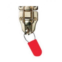 "Brady - 95173 - Brady Red Polypropylene Padlock Seal (100 ea)""SEAL"", ( Package )"