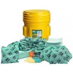 Brady - 120837 - Brady 65 gal Drum HazWik Yellow Polypropylene Spill Kit, ( Kit )