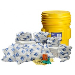 Brady - 120836 - Brady 65 gal Drum SPC Yellow Polypropylene Spill Kit, ( Kit )