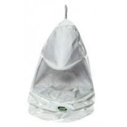 Bullard - 20TICHC30R - Bullard White/Clear Tychem QC Tychem QC Bib Hood, ( Each )