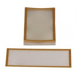 Bullard - 7714 - Bullard Mylar Adhesive Backed Lens Cover For Bullard Supplied Air Respirator (25 Per Pack), ( Package )