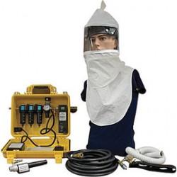 Bullard - CAB15HASYS - Bullard 15 CFM @ 110 psig Air Filtration Box Supplied Air Respirator, ( Each )