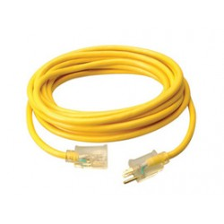 Coleman Cable - 02688-88-02 - Coleman Cable 02688-88-02 15 Amp, 125V AC, Pro-Grade Extension Cord, 10/3, Length: 50ft