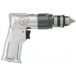 """Chicago Pneumatic - CP785 - 0.5 HP General Duty Keyed Air Drill, Pistol Style, 3/8"""" Chuck Size"""