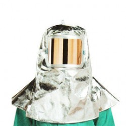 Chicago Protective Apparel - 0647-AR - Chicago Protective Apparel Silver Aluminized Rayon Heat Resistant Hood, ( Each )