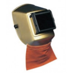 Chicago Protective Apparel - 096-CL - Chicago Protective Apparel Brown Split Leather Welding Bib, ( Each )
