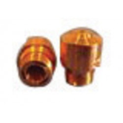Hypertherm - BY310-0004CP - Centricut NK17-15 1.75 mm Chrome Plated Double Nozzle For Bystronic CO2 Laser Torches, ( Each )