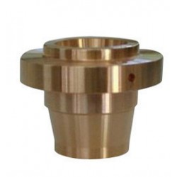 Hypertherm - MZ335-0850 - Centricut 24 mm X 18.2 mm Copper Nozzle Body For Mazak CO2 Laser Torches, ( Each )
