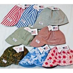 Comeaux Caps - 118-22718 - Comeaux Caps 7 1/8 Assorted Colors 2100 Series Cotton Welder's Cap, ( Each )
