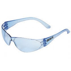 Crews - CL113 - Crews Checklite Safety Glasses With Polycarbonate Frame And Light Blue Polycarbonate Duramass Anti-Scratch Lens