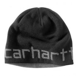 Carhartt - 886859000527 - Carhartt Black 100% Acrylic Knit Fabric Reversible Greenfield Hat, ( Each )